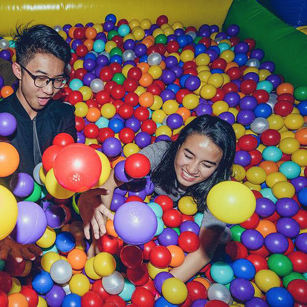 Ball pit events halo entertainment for Ball pits near me
